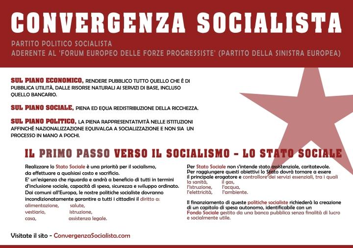 Socialismo e Stato sociale